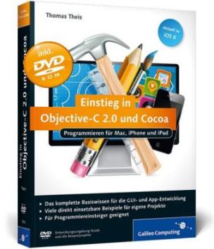 Einstieg in Objective-C 2.0 und Cocoa, m. DVD-ROM