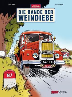 Die Abenteuer von Jacques Gibrat - Die Bande der Weindiebe