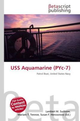 USS Aquamarine (PYc-7)