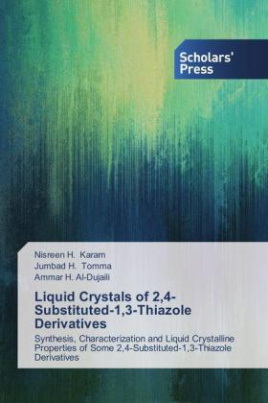 Liquid Crystals of 2,4-Substituted-1,3-Thiazole Derivatives