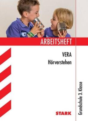 Arbeitsheft VERA Hörverstehen, Grundschule 3. Klasse, m. MP3-CD