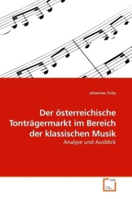 Der österreichische Tonträgermarkt im Bereich der klassischen Musik