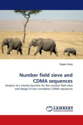 Number field sieve and CDMA sequences