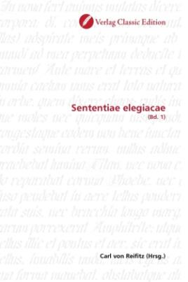 Sententiae elegiacae