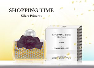 Shopping Time Princess Silver Eau de Parfum für Sie