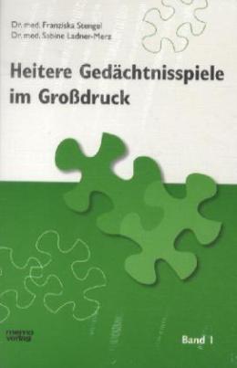 Heitere Gedächtnisspiele im Großdruck. Bd.1