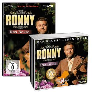 Ronny - Das Beste - Das große Lebenswerk + Ronny - Das Beste DVD