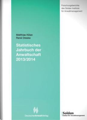 Statistisches Jahrbuch der Anwaltschaft 2013/2014