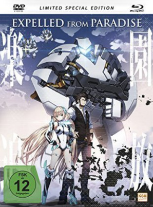 Expelled From Paradise, 1 DVD + 1 Blu-ray (Limited Special Edition - Mediabook)