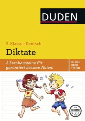 Wissen - Üben - Testen: Deutsch - Diktate, 2. Klasse