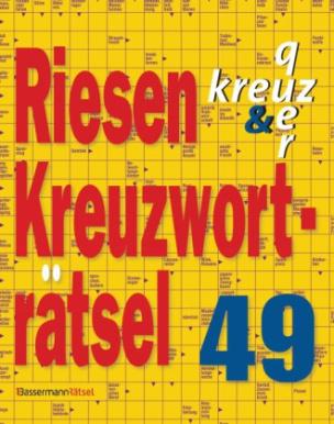 Riesen-Kreuzworträtsel. Bd.49
