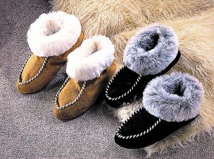 Eskimo-Slipper, beige 27-28