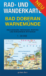 Rad- und Wanderkarte: Bad Doberan - Warnemünde